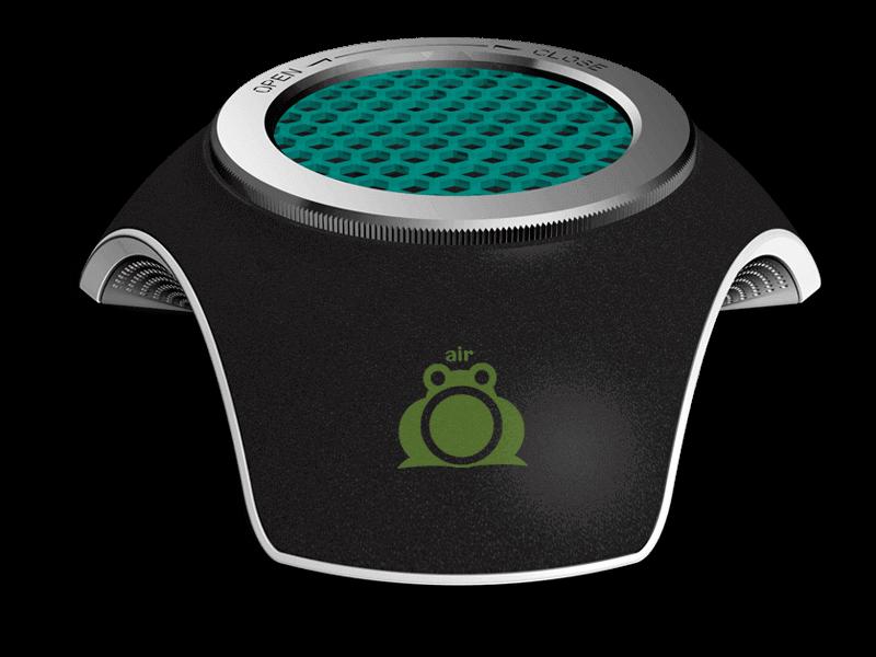 Air Frog Air Purifier Aliento – Black
