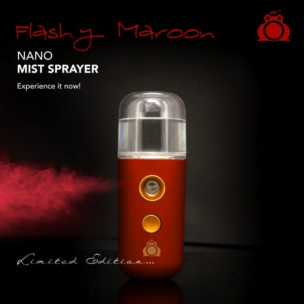 Air Frog Nano Mist Sprayer – Limited Edition  – Flashy Maroon
