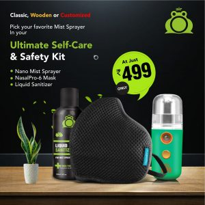 Air Frog Ultimate Self-Care Kit  – Marine Green