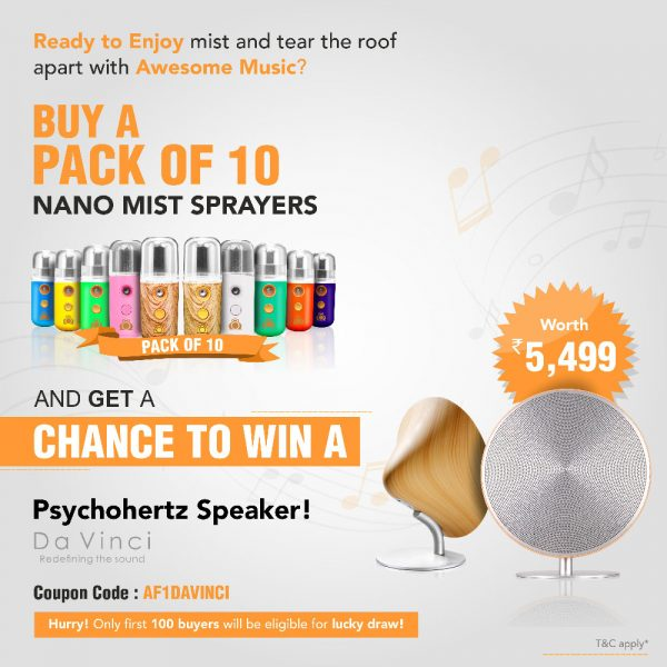 Air Frog Nano Mist Sprayer – 1 Pack