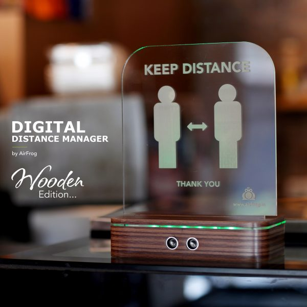 Air Frog Digital Distance Manager – Wooden Edition